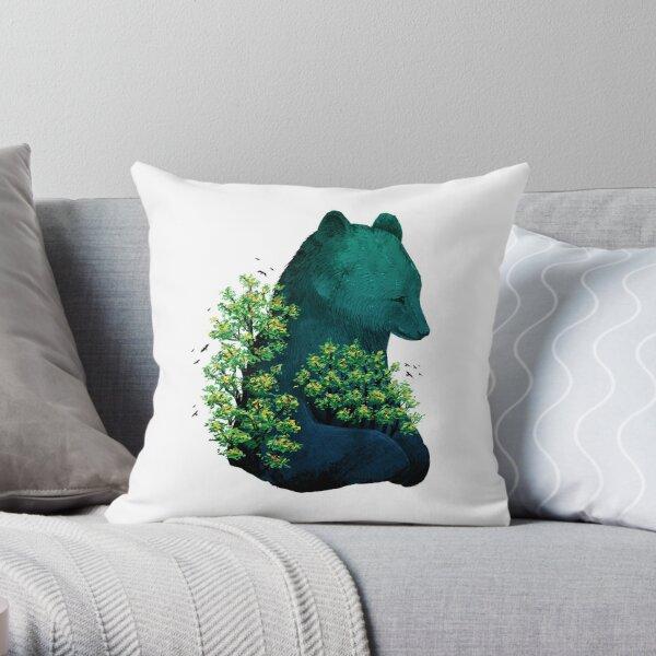 Nature's Embrace Throw Pillow