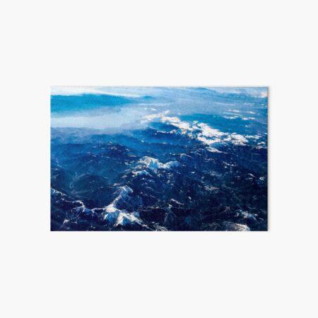 Winter mountains Art Board Print