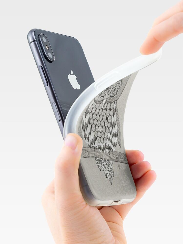 Alternate view of Rupert Owl iPhone Case