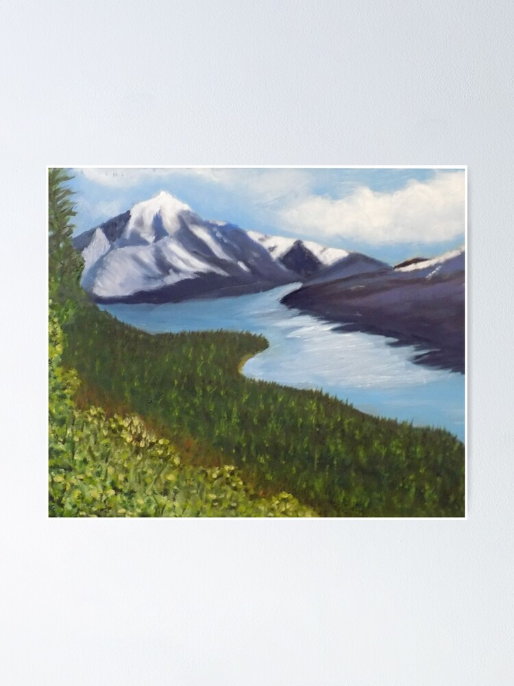Alternate view of Alaska Poster