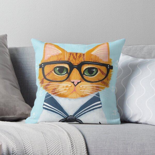The Little Sailor Throw Pillow