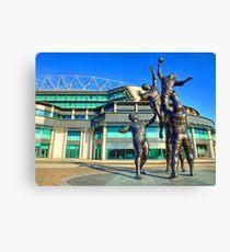Twickenham Stadium - The Home of English Rugby - HDR Canvas Print