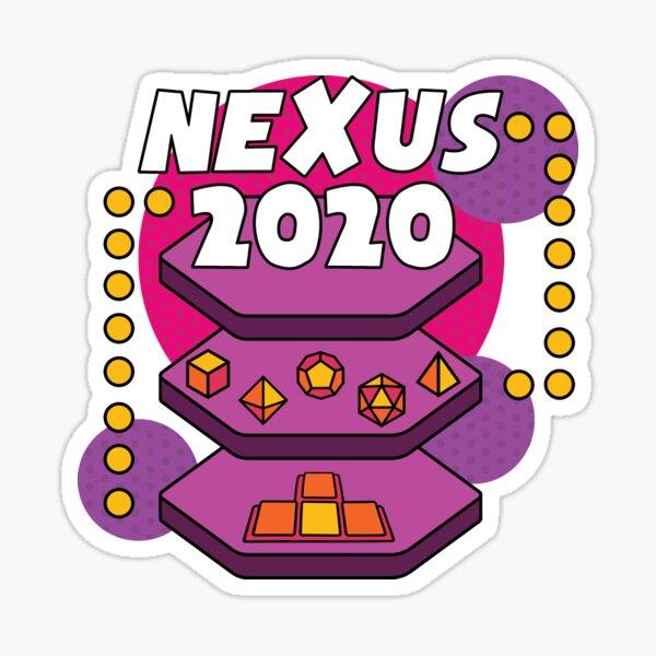 Nexus Online Exclusive - Purple Sticker