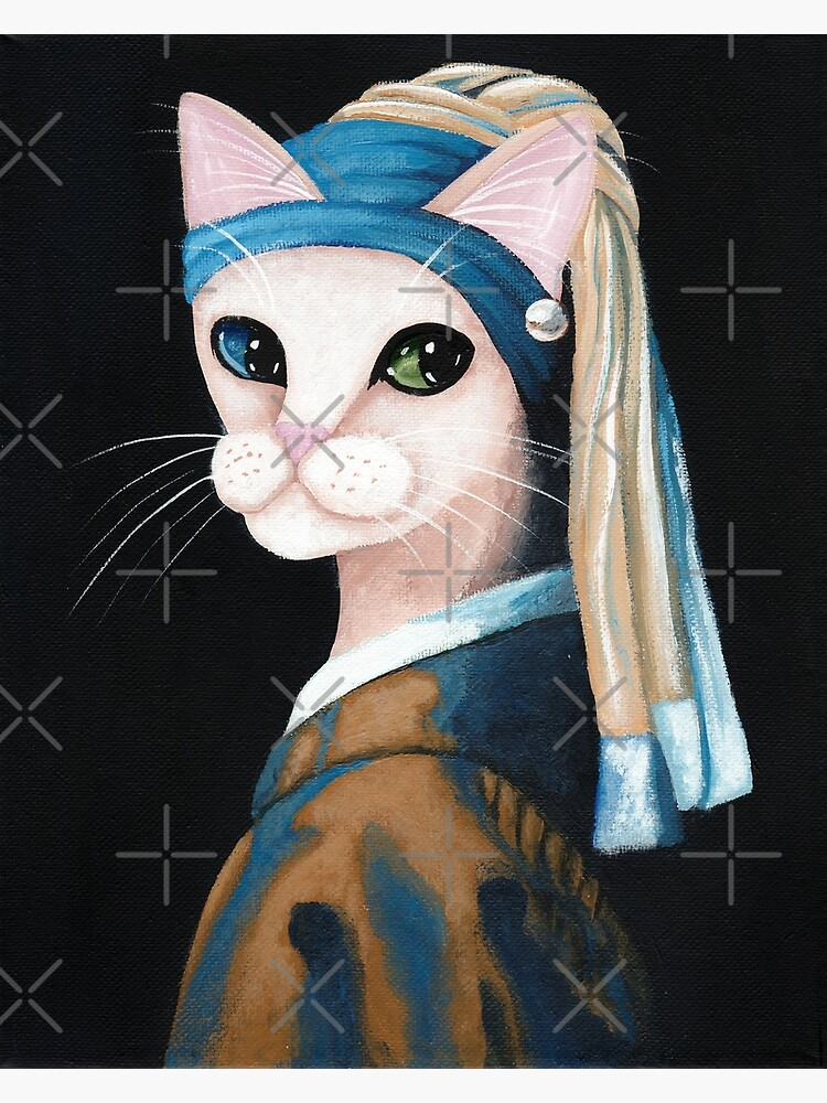 The Cat With the Pearl Earring by kilkennycat