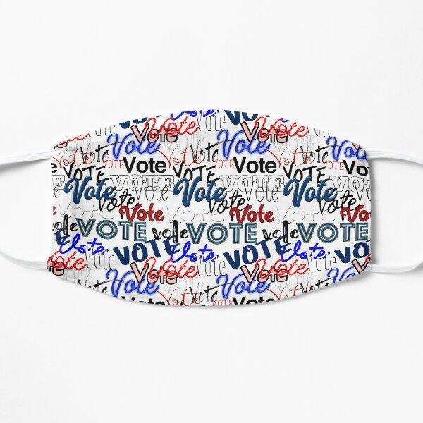 Vote vote vote! Flat Mask