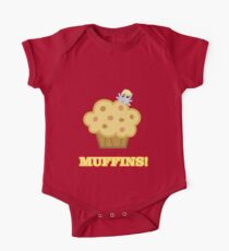 Derpy (Ditzy Doo) - Muffins! - (My Little Pony Friendship is Magic) One Piece - Short Sleeve