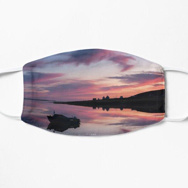 L'éveil, bateaux dans une baie au lever de soleil Masque sans plis