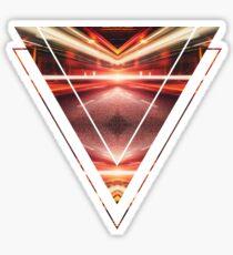 Geometric Street Night Light (HDR Photo Art) XTFORCE-TB Sticker