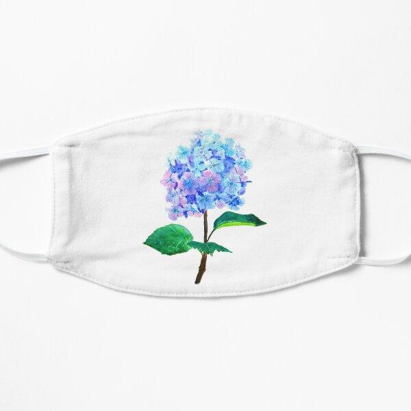 blue purple hydrangea flower  Mask