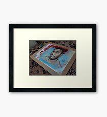 Self Portrait - WIP Framed Print
