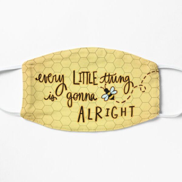 Bee alright Flat Mask