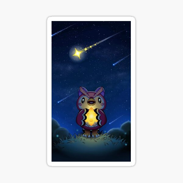 Celeste Star Gazing  Sticker
