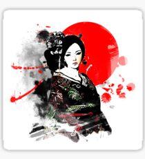 Japan Kyoto Geisha Sticker
