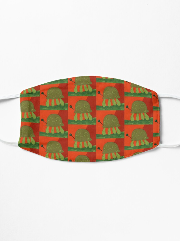 Alternate view of Painted Turtle Mask