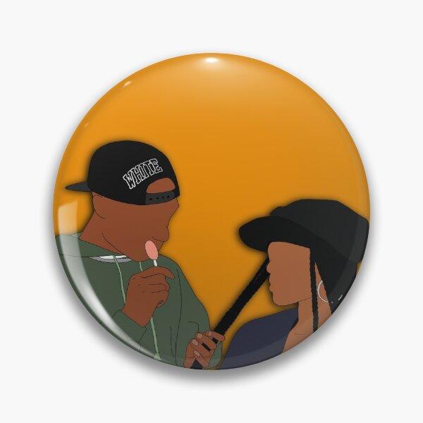 Poetic Justice Fan Art Sticker Pin