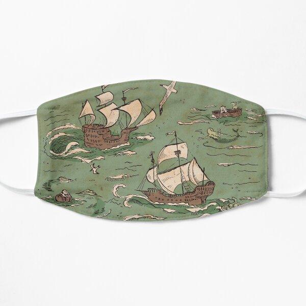 Ships a-sailing Flat Mask