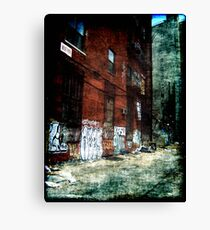 New York City Backyard Canvas Print