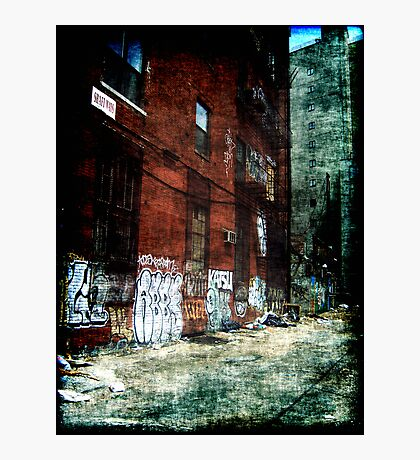 New York City Backyard Photographic Print