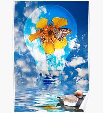 Flowering Bulb  Poster