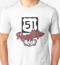 Wisconsin Roadtrip 51 Unisex T-Shirt