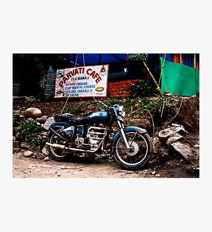 RAW RIDE Photographic Print