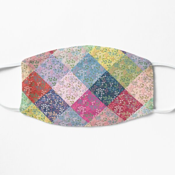 Under the Fairy Quilt In Diamonds by Tea with Xanthe Flat Mask