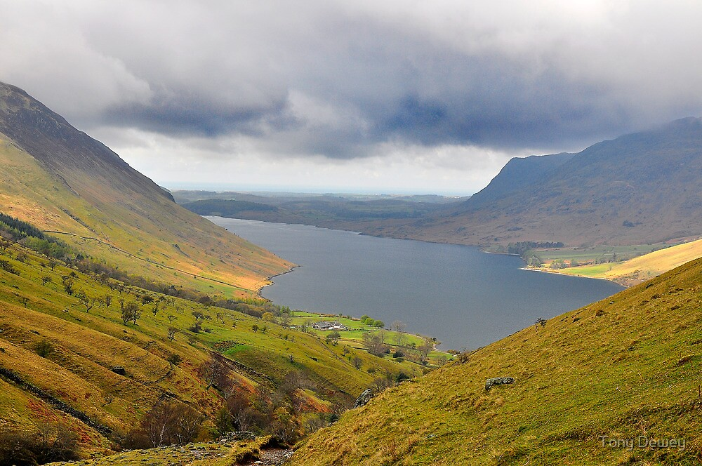 Wast Water Lake District by Tony Dewey