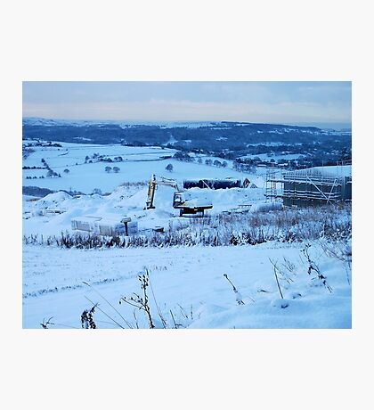 Be There Treasure In Thy Snowy Realm? Photographic Print