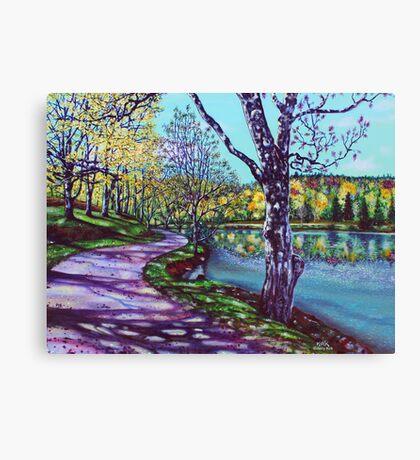 'HEAVEN' (Bass Lake, NC) Canvas Print