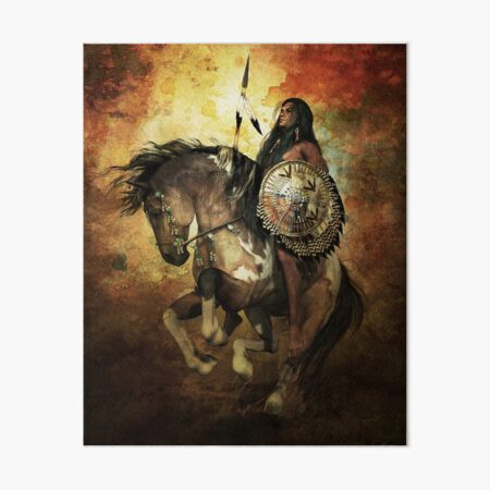 Warrior Art Board Print