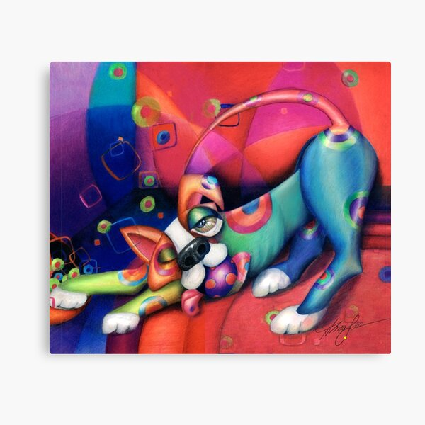 Spot the Dog Canvas Print