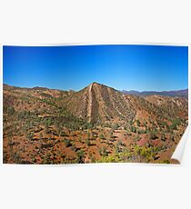 Flinders Ranges Cone Hill Poster