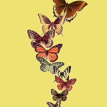 Vintage butterflies by dreamorlive