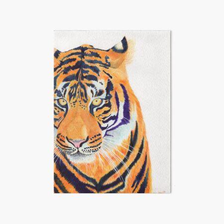 Fierce Tiger  Art Board Print