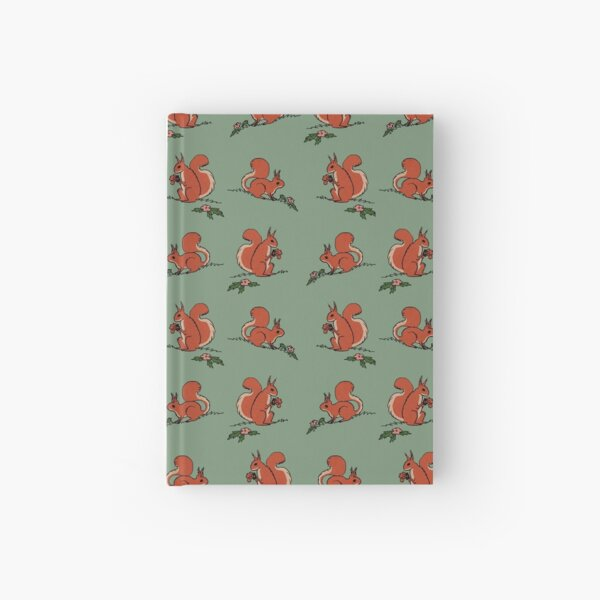 Squirrels! Hardcover Journal