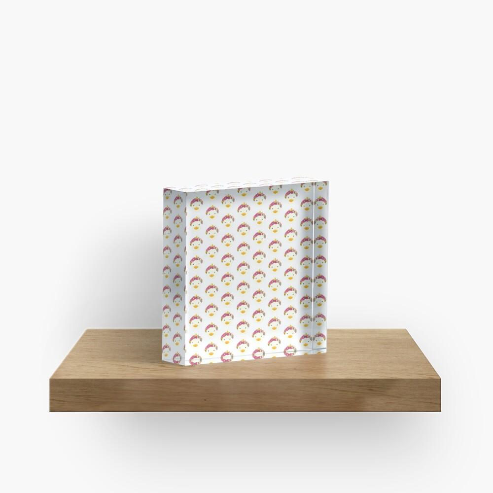 May Queen Acrylic Block