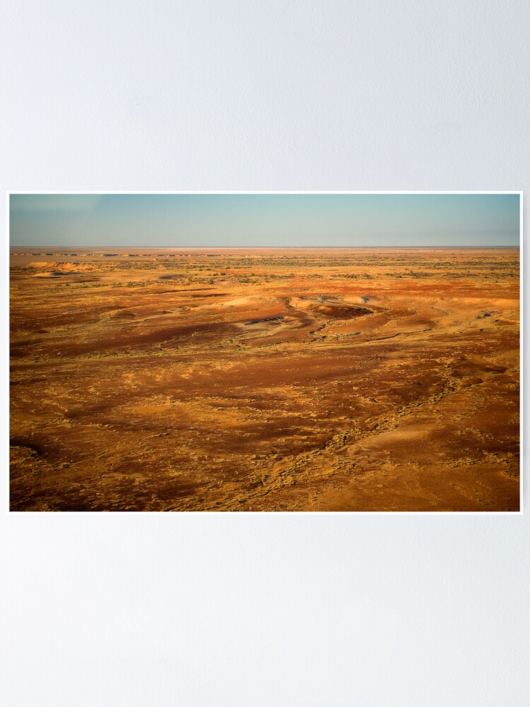 Alternate view of Lake Eyre 1 Poster