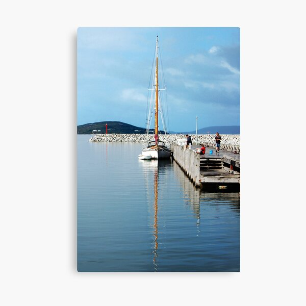 Yacht in Albany Canvas Print