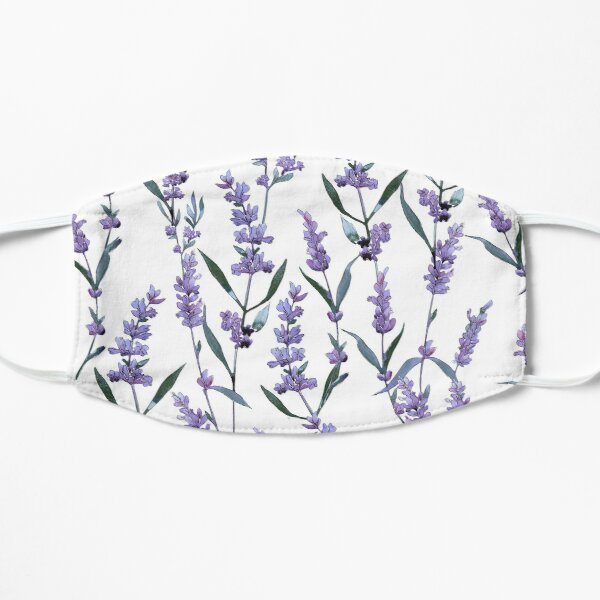 Lavender Flat Mask