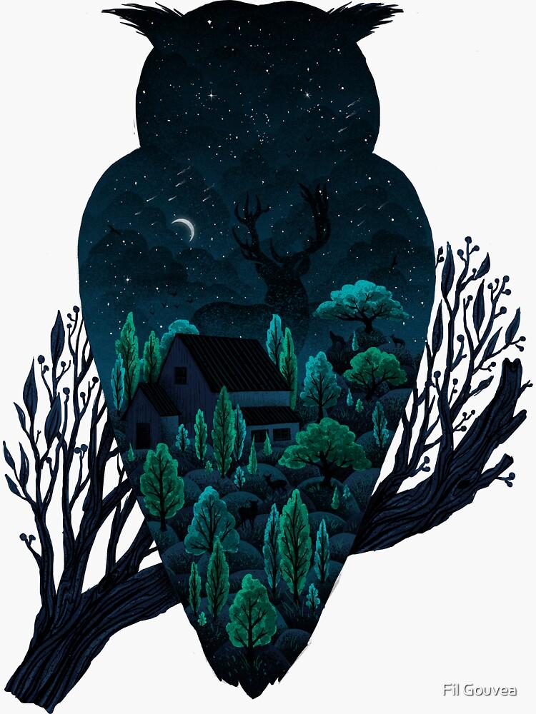 Eulenlandschaft von filgouvea