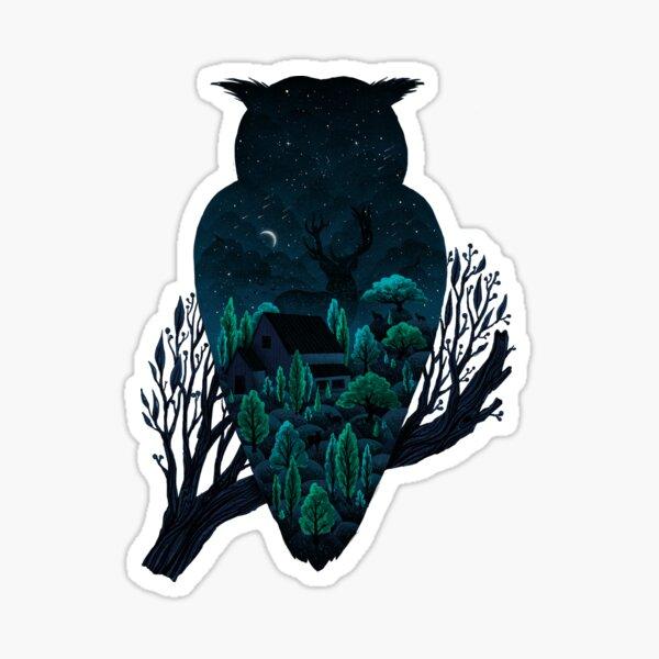 Owlscape Sticker