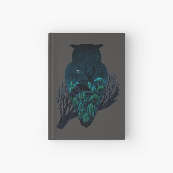 Owlscape Hardcover Journal
