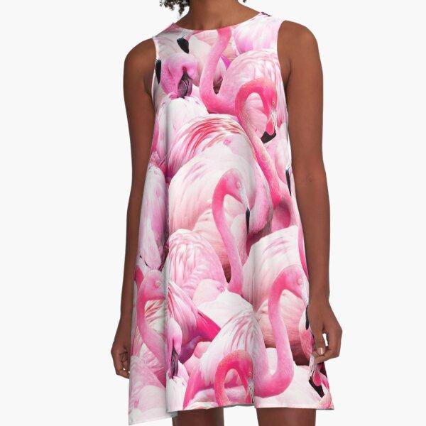 Kleider Flamingo Redbubble