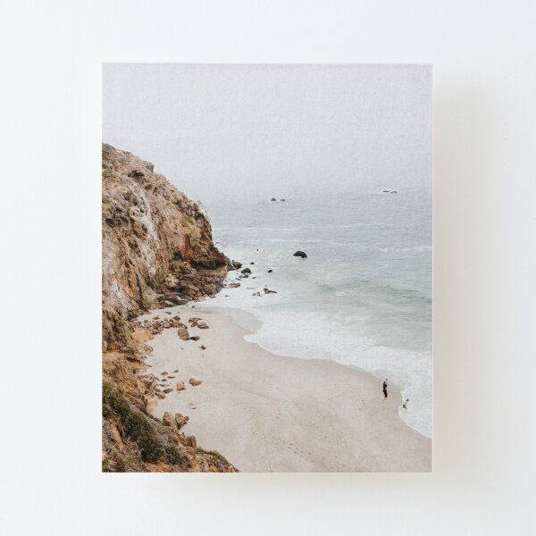 Malibu Coast  Canvas Mounted Print
