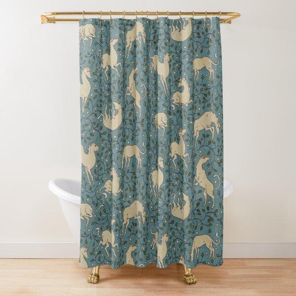 Twilight Unicorns Shower Curtain