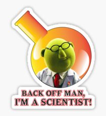 Dr. Bunsen Honeydew. Sticker