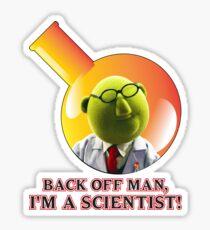Dr. Bunsen Honeydew. Sticker