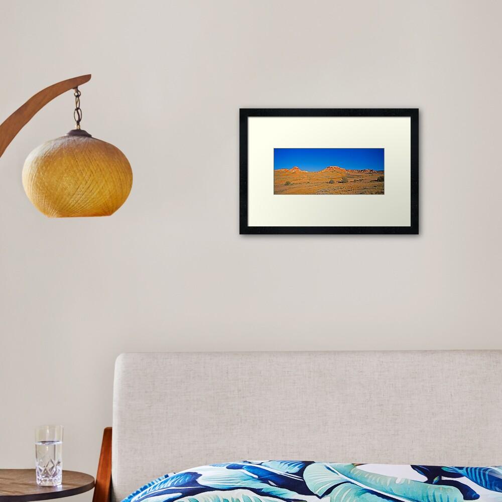 Painted Desert Hills 1 Framed Art Print