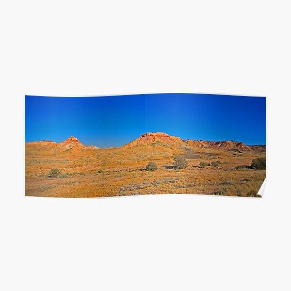 Painted Desert Hills 1 Poster