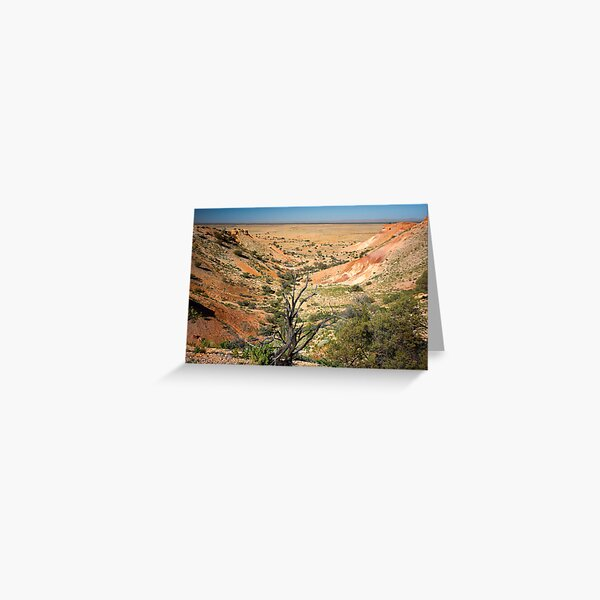 Painted Desert Valley Greeting Card